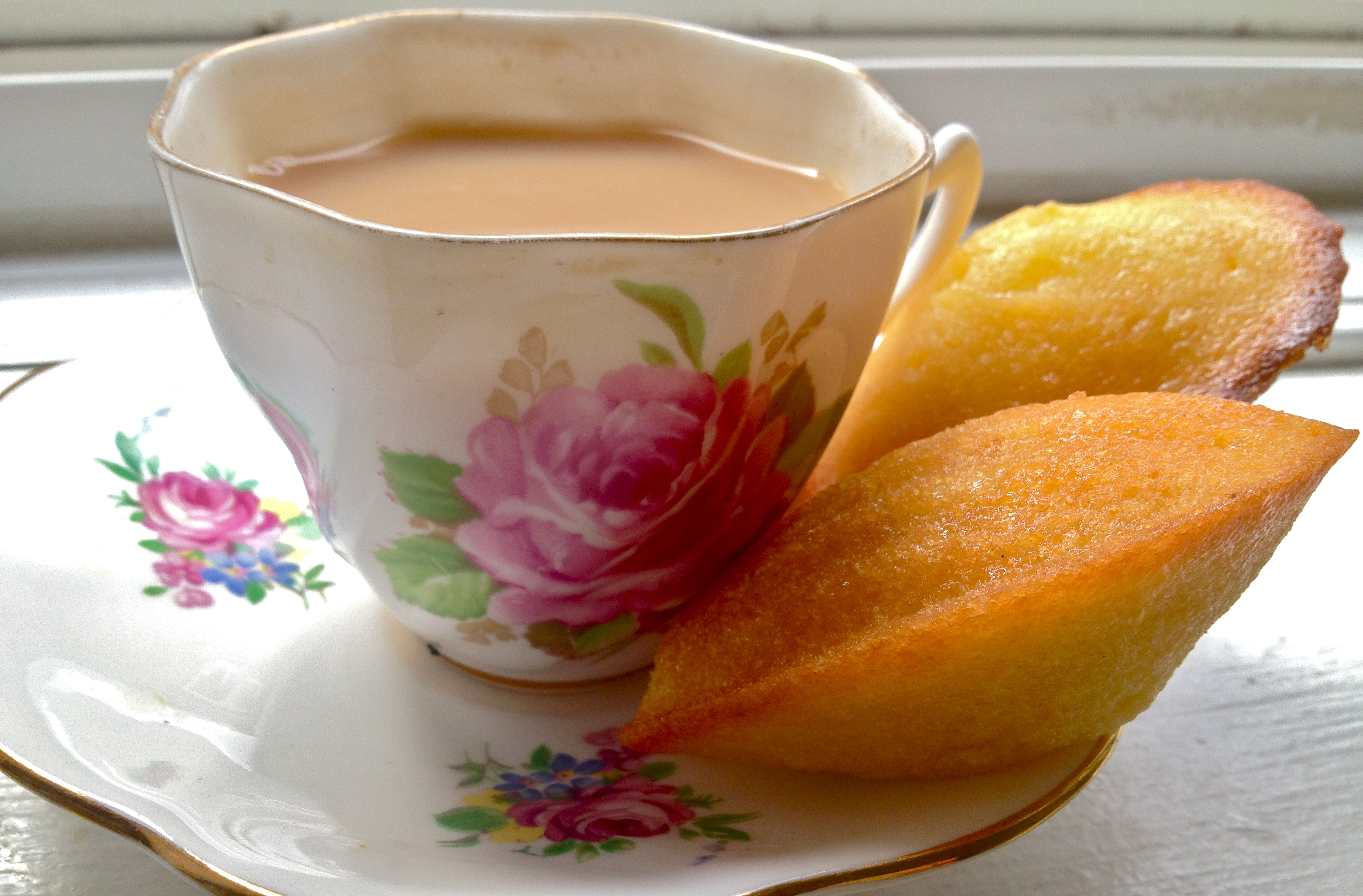 Lemon-Glazed Madeleine Recipe — Dishmaps